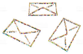 Image result for cartoon letters mail